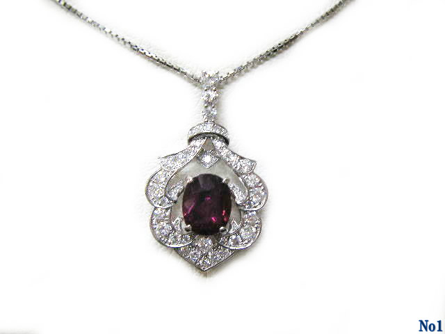 pendant necklace ruby PT Product Image 1