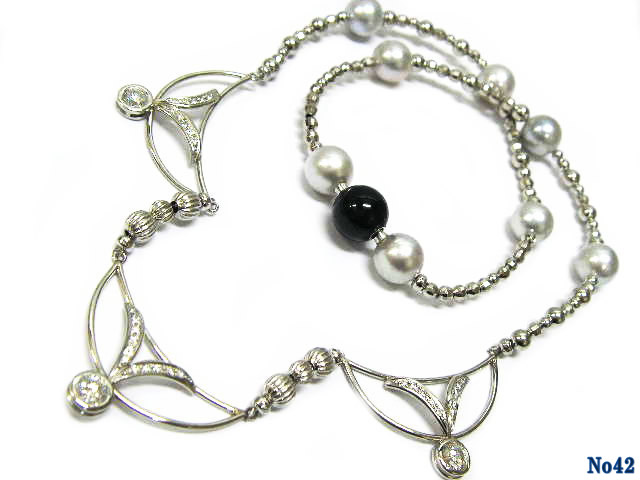 necklace pearl PT